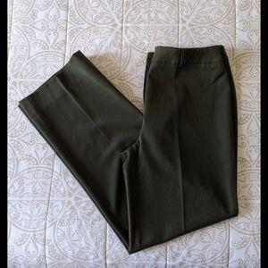 Thalian | Dark Green Dress Pants